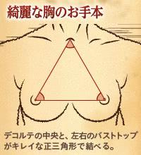 胸の触感・位置・形にはキレイの正解があります