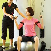 加圧トレーニングの施術2