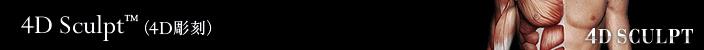ベイザー4Dスカルプト(4D Sculpt)