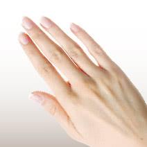 手のシミ・シワ