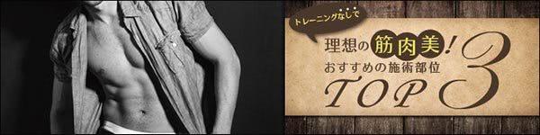 男らしい筋肉の創り方と人気部位トップ3