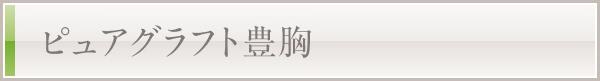 ピュアグラフト豊胸(脂肪注入豊胸)