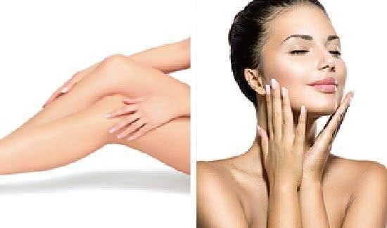 むくみやたるみを解消し肌質を改善させるため、体内と体外の両方から、お肌へアプローチします